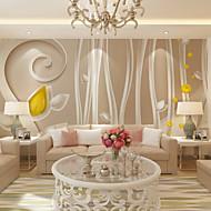 Art Deco 3D Tapete Für Privatanwender Zeitgenössisch Wandverkleidung , Leinwand Stoff Klebstoff erforderlich Wandgemälde ,
