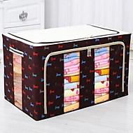 Коробки для хранения Мешки для хранения Металл Нетканый материал сОсобенность является С крышкой , Для Бижутерия Бельё Для шоппинга