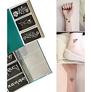 Glitter-tatuoinnit-other-Glitter-sabluuna-Paperi-Non Toxic KuvioMustaAikuinen
