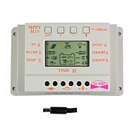 Y-태양 10A LCD 디스플레이 태양 광 충전 컨트롤러 12V 및 24V 자동 스위치 M10