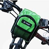 B-Soul® Fahrradtasche OtherLFahrradlenkertasche Wasserdicht tragbar Tasche für das Rad PU Leder Fahrradtasche Radsport 37*36*19