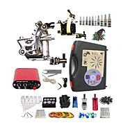 Complete Tattoo Godragon 2 Machines With Mini Power Supply  Liner & Shader Inks