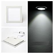 zdm ™ 12W LED stropne svjetla / LED svjetla ploče uvučeni retrofit 60 SMD 2835 900 lm svjež bijeli ac 85-265 v