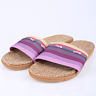 Modern/Contemporary House Slippers Women's Slippers Purple