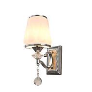 AC 220-240 5 E26/E27 Moderne/ Samtidig Tradisjonell/ Klassisk Elektrobelagt Trekk for Krystall LED Pære inkludert,Atmosfærelys Vegglamper