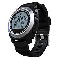 アンドロイドiOS用のスマートウォッチmtk2502ブルートゥーススマートウォッチ心拍数モニターの歩数計の腕時計は、携帯電話のGPSを見ます