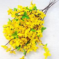 1 ramură Plastic Crizantemă Față de masă flori Flori artificiale 20*20*50
