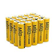 Nanfu NF-MB1 aa kovový nikl hydrde baterie 1,2 V 2050mah 20 balení