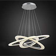 3 Ring DIY Shape LED Acrylic Pendant Light Ceiling Lamps Chandeliers Lighting with 50W