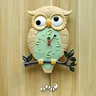 Moderne/Contemporain Niches Horloge murale,Nouveauté Polyrésine 34*44*22 Intérieur Horloge