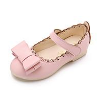 Egyéb-Lapos-Női cipő-Szandálok-Esküvői Ruha Party és Estélyi-PU-Fekete Rózsaszín Fehér