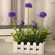 1 Branch Plastic Fiber Lavender