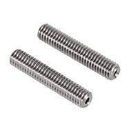 anet MK8 2stk rustfritt stål dyse teflon rør - sølv grå