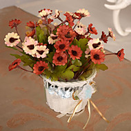 High Quality Artificial Flower  basket for  Home Decor(1pc)