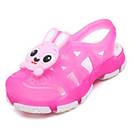 Kids Girl's Boys Sandals Spring Summer Fall Mary Jane Comfort Flower Girl Shoes Rubber Outdoor Athletic Casual Low Heel Hollow-outBlue Pink Red
