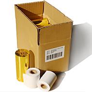 57 * 50 χιλιοστά θερμική μικρό χαρτί εκτύπωσης εισιτηρίων 24 όγκους / κουτί
