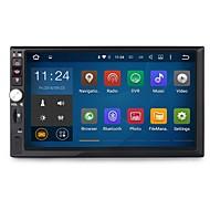 7-inčni 2din quad core android 5.1.1 auto multimedija audio GPS player sustav 2GB RAM sa wifi 3g ex-tv mrlja univerzalne dy7092