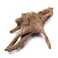 קישוט אקווריום Wood אינו רעיל וחסר טעם שרף צהוב