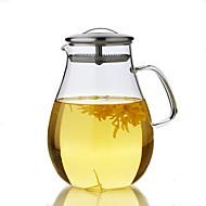 1pc slap-up atmosferski obiteljske zabave stakla čaj set čajnika