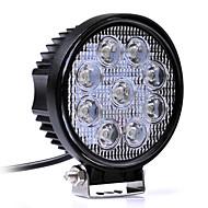 27 wattů bílá 6000K vedl auto reflektory pracovní světlo čelovka nákladní automobil motocykl silnice mlhovka tahač Auto LED světel pro