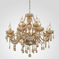 40 Chandelier ,  Modern/Contemporary Others Feature for Crystal GlassLiving Room Bedroom Dining Room Bathroom Study Room/Office Kids Room