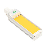 YWXLight® G24 COB 9W 800-900LM Cool White Warm White LED Corn Light Horizontal Plug Light (AC 85-265V)