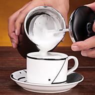 # ml Rustfritt stål Milk skummer , drypp Coffee Maker Gjenanvendelige