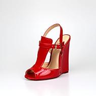 Damen-High Heels-Party & Festivität-PU-Keilabsatz-Club-Schuhe