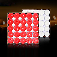 50Pcs Candles Holiday Wedding Modern/Contemporary Candles Romantic Home Decoration      Can Burn For Two Hours