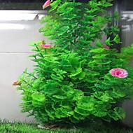 수족관 장식 수중식물 무독성&무미 플라스틱 레드 그린 옐로우