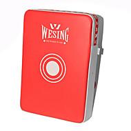Rękawice bokserskie na Boks Sztuka walki Fitness Taekwondo Wearproof Izolowany/a Skóra syntetyczna Red/White