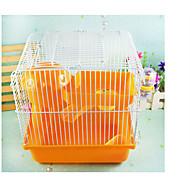 Csincsillák Kalitkák Hordozható Több funkciós Fém Műanyag Narancssárga Kávé Kék Rózsaszín