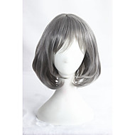 Short Straight Grey Synthetic 14inch Anime Lolita Wig CS-284A