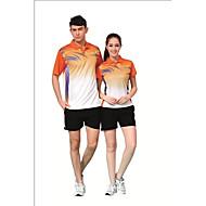 Set di vestiti/Completi-Badminton-Per uomo-Traspirante Comodo-Verde Rosso Blu Arancione