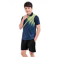 Set di vestiti/Completi-Badminton-Per uomo-Comodo-Rosso Blu scuro
