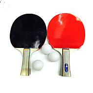 Ping Pang/卓球ラケット Ping Pang/卓球ボール Ping Pang ラバー ショートハンドル にきび 1 ラケット 3 ピンポン球 屋内 屋外 性能 レジャースポーツ