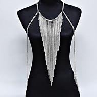 Dámské Tělové ozdoby Tělo Chain / Belly Chain příroda Módní Bohemia Style Slitina Zlatá Stříbrná Šperky Pro Zvláštní příležitosti Ležérní
