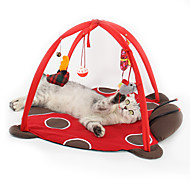 Kattenspeeltje Huisdierspeeltjes Interactief Pluche speelgoed Vouwbaar Cartoon