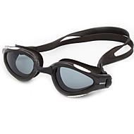 Óculos de Natação Anti-Nevoeiro Anti-Roupa Á Prova-de-Água Tamanho Ajustável Proteção UV Resistente a Arranhões Anti-Estilhaços Gel Silica