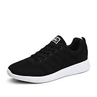 男性の運動靴春夏秋冬の快適チュールアウトドアスポーツカジュアルレースアップ歩く