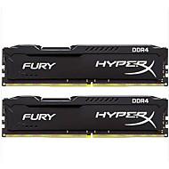 Kingston RAM 32ギガバイトキット(16ギガバイト* 2) DDR4の2400MHzの デスクトップメモリ HX424C15FBK2/32 PNP