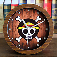 コンテンポラリー カジュアル 航海 その他 壁時計,ノベルティ柄 メタル ウッド 12 屋内/屋外 屋内 クロック