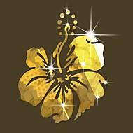 Romantika Mrtva priroda Cvjetnih Zid Naljepnice Zidne naljepnice ogledala Dekorativne zidne naljepnice,Vinil Materijal Početna Dekoracija