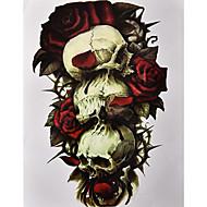 1 Tatoveringsklistremerker Blomster Serier MønsterDame Herre Flash-tatovering midlertidige Tatoveringer