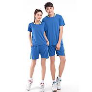 Set di vestiti/Completi-Attività ricreative Badminton-Per uomo-Traspirante Comodo-Blu Pesca