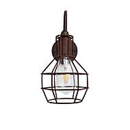 Ac220v-240v 4w e27 led ışık swall ışık led duvar vernikler duvar pas-renkli retro duvar lambası