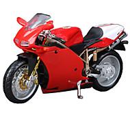 Motorräder Spielzeuge Auto Spielzeug 1:18 ABS Rot Model & Building Toy