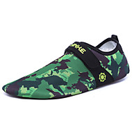 Men's Athletic Shoes Spring Summer Comfort Light Soles PU Outdoor Athletic Water Shoes Flat Heel Magic Tape Black Yellow Green Blue