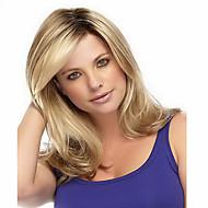 syntetiske parykker volumbølge ombre 1b / blonde farge varmeresistente parykker for kvinner