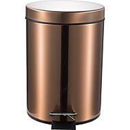 12l Padel kolo nerezová ocel pomalu typ tlumené koše odolné proti otiskům prstů popel na odpadky